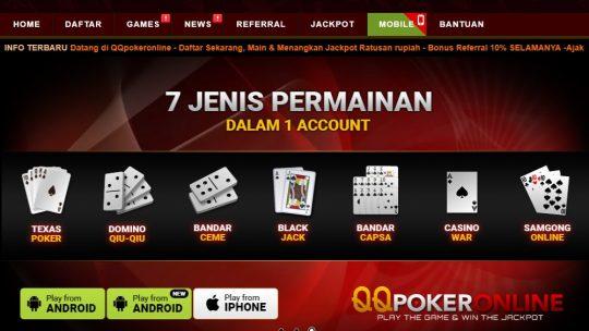 Judi Poker Online Sebagai Sumber Mata Pencaharian Baru